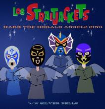 Los Straitjackets - Hark the Herald Angels Sing -7 inch