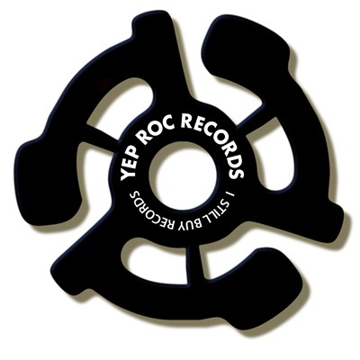 Yep Roc Records - 45 RPM Adapter (Black)
