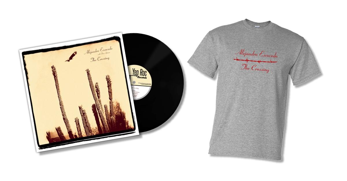 Alejandro Escovedo - The Crossing - CD/LP Bundle