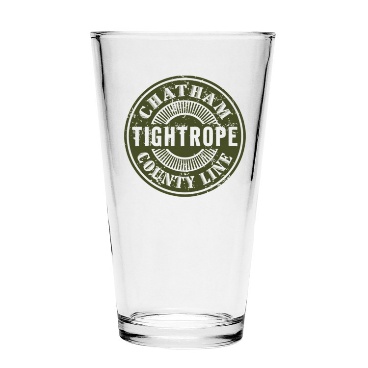Chatham County Line - Tightrope Pint Glass