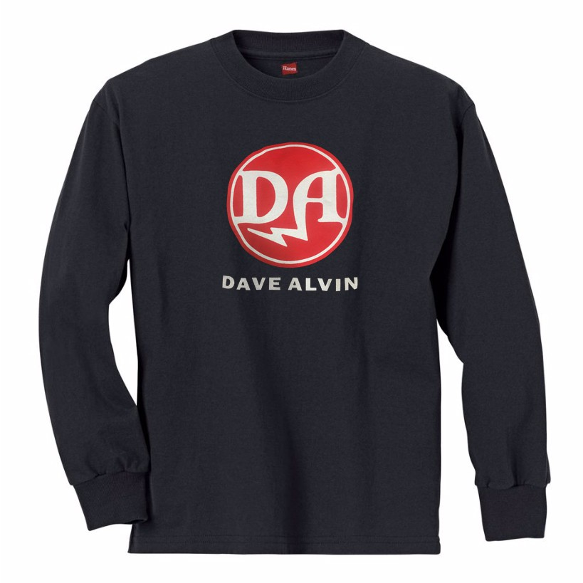 Dave Alvin - Long Sleeve T-Shirt - XLarge