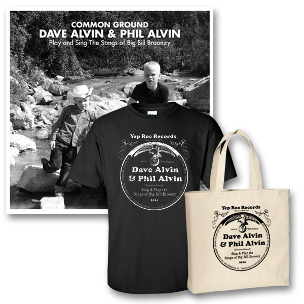 Dave Alvin & Phil Alvin - Common Ground - Tour Merch - Bundle