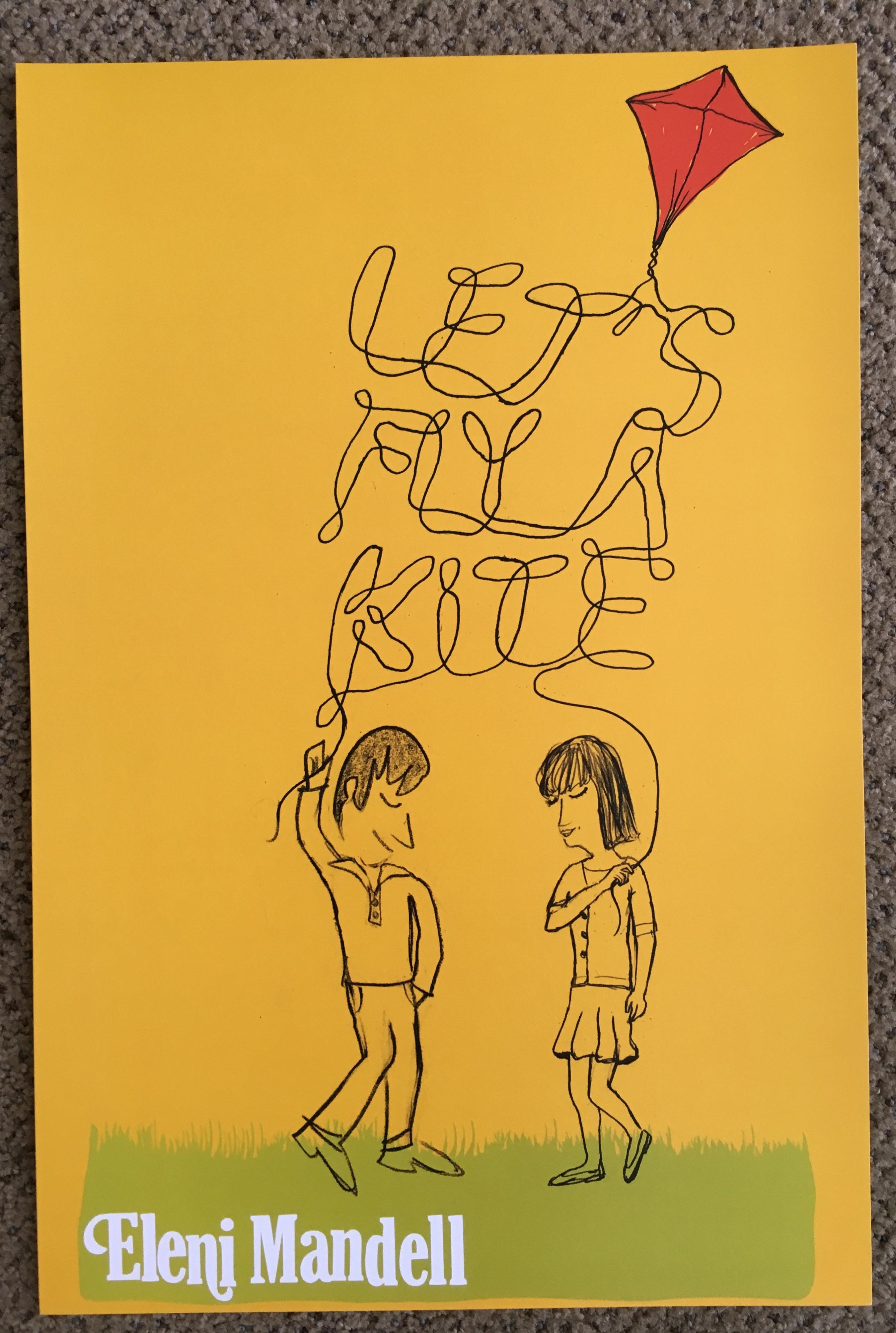 Eleni Mandell - Let's Fly a Kite - Poster