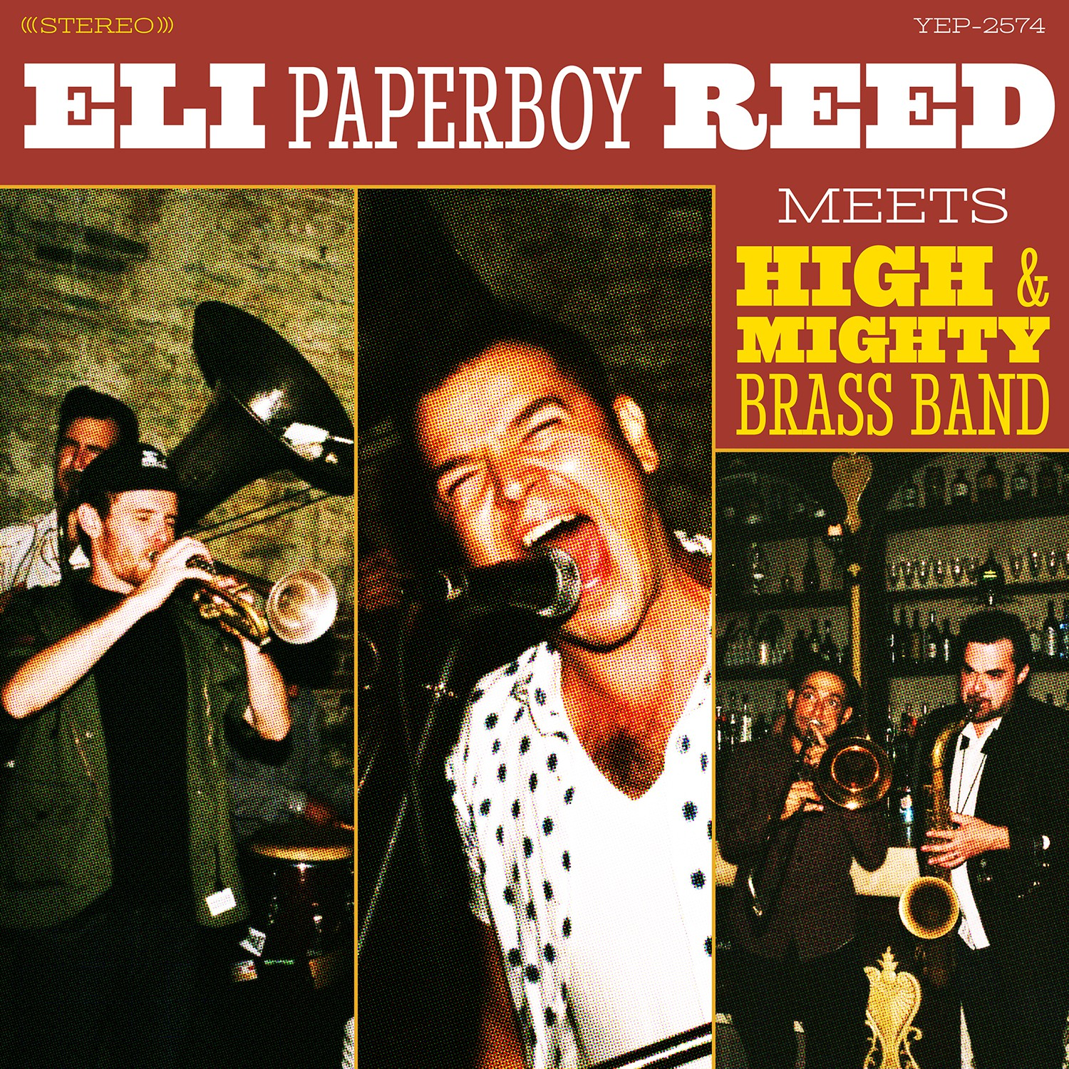 Eli Paperboy Reed Meets High & Mighty Brass Band CD/LP