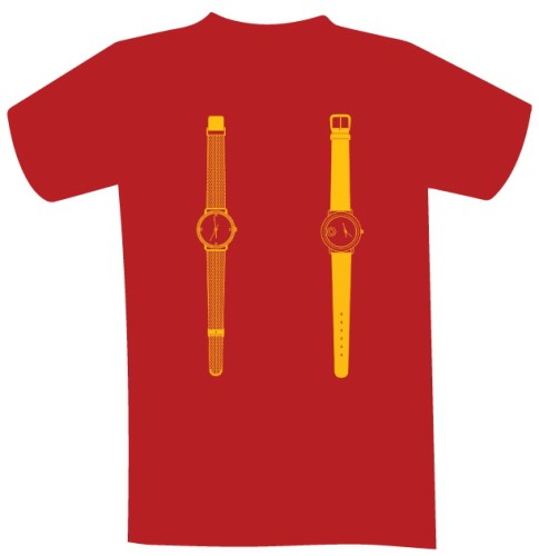 Golden Suits - Watches - T-Shirt