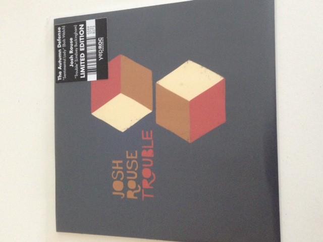 "Autumn Defense / Josh Rouse - Sentimental Lady b/w Trouble 7"" single"