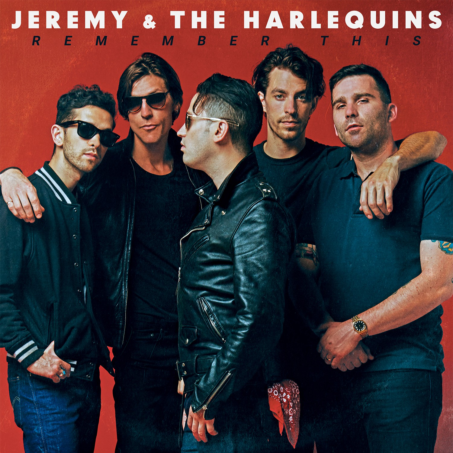 Jeremy & The Harlequins - Remember This - CD/LP