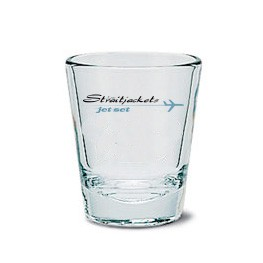 Los Straitjackets - Jet Set - Shot Glass