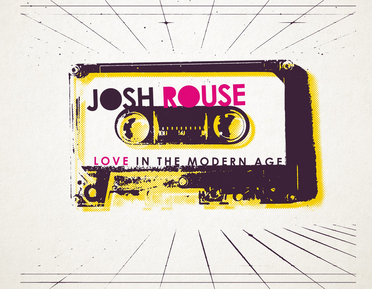 Josh Rouse Love in the Modern Age Screen Print