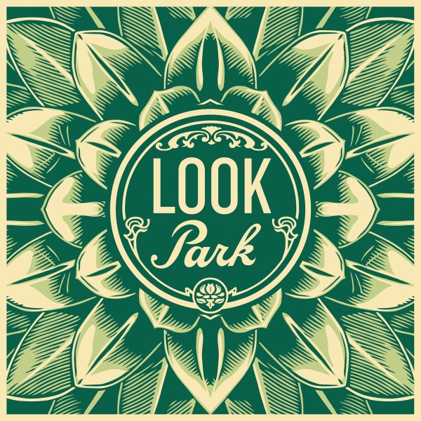 "Look Park - 12"" x 12"" - Album Cover Print"