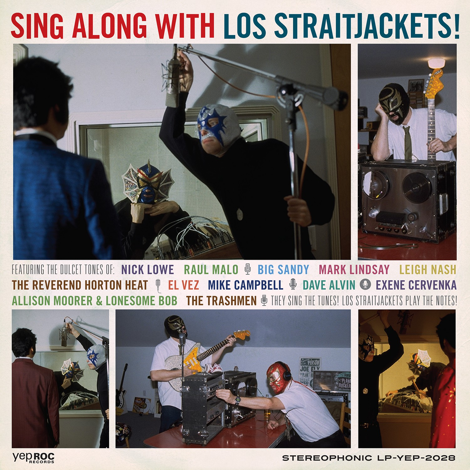 Los Straitjackets - Sing Along with Los Straitjackets (with Bonus 45)