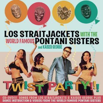 Los Straitjackets - Twist Party - Bundle