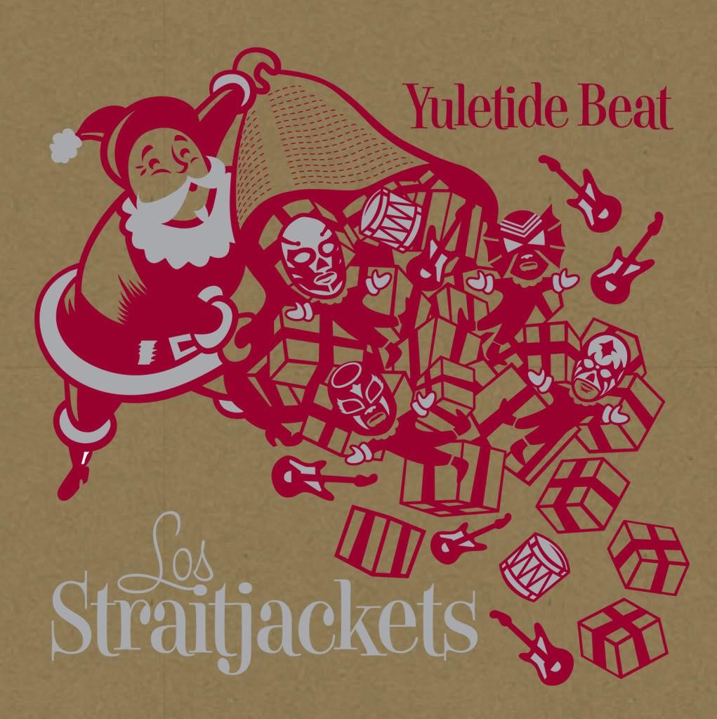 Los Straitjackets Yuletide Beat - LP