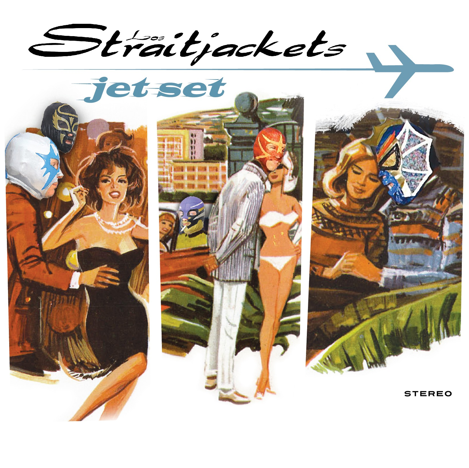 Los Straitjackets - Jet Set - Bundle