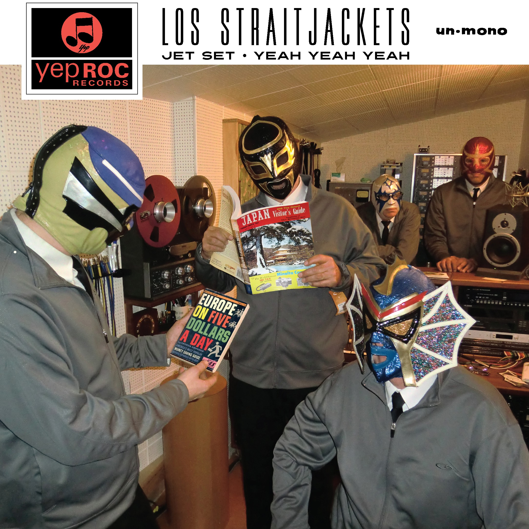 "Los Straitjackets - ""Jet Set"" b/w ""Yeah Yeah Yeah"""