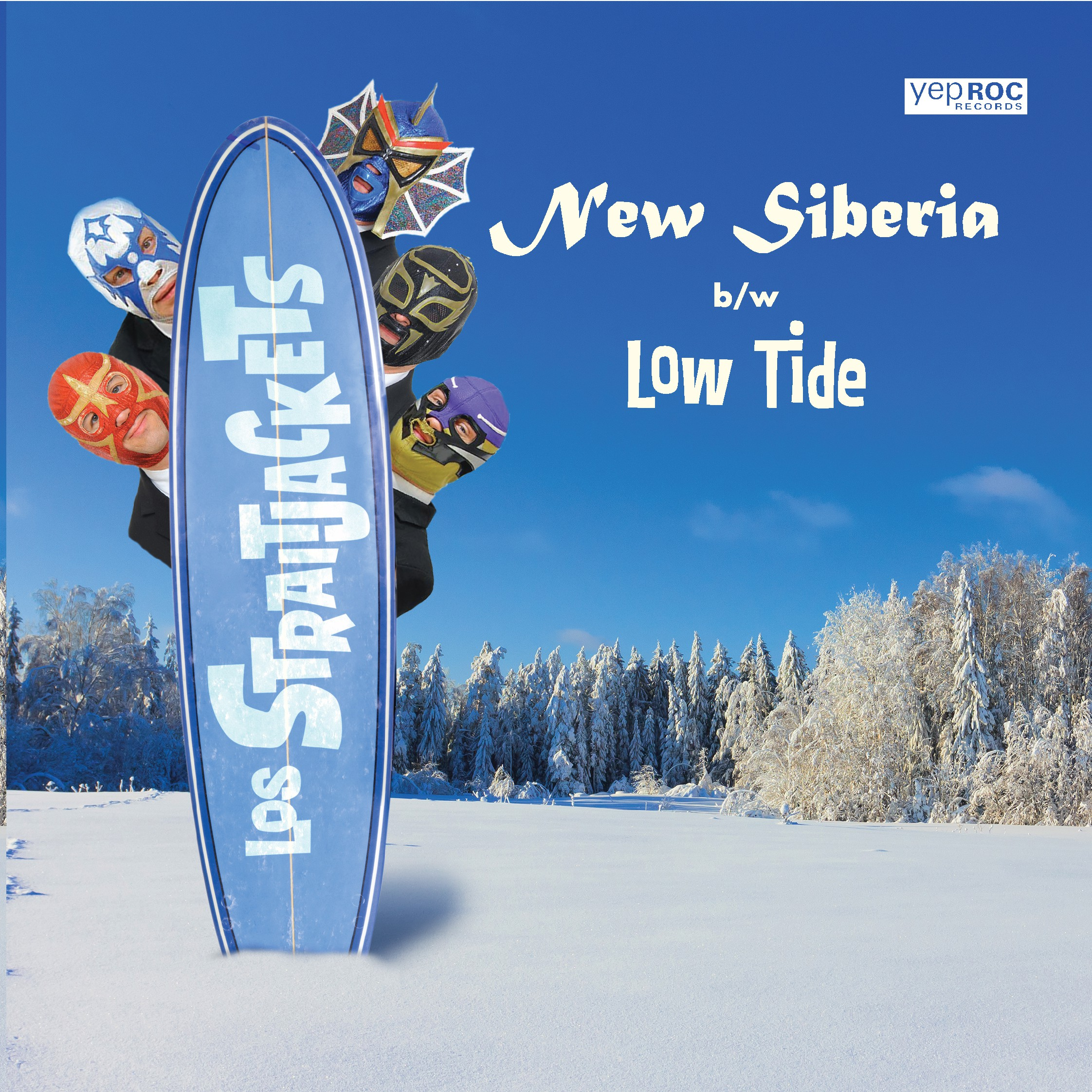 "Los Straitjackets - ""New Siberia"" b/w ""Low Tide"""
