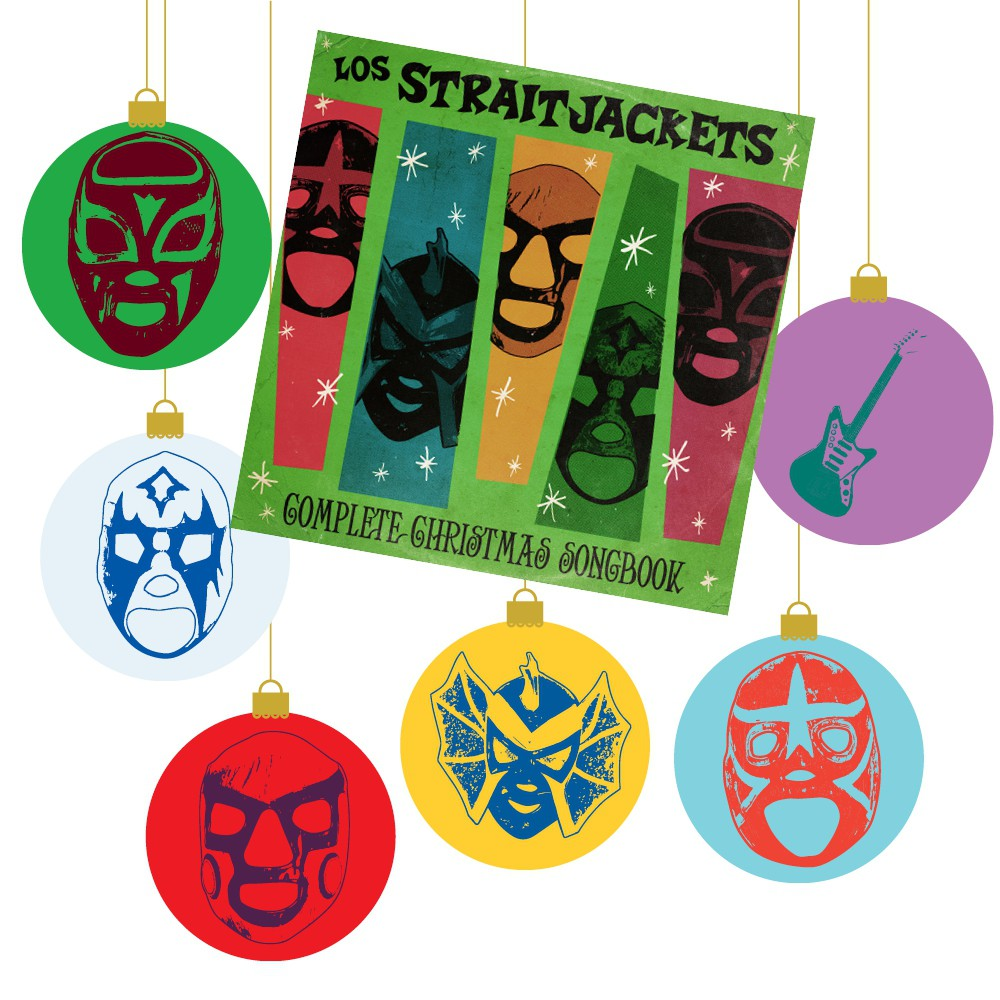 Los Straitjackets - Complete Christmas Songbook with Ornaments (BUNDLE)