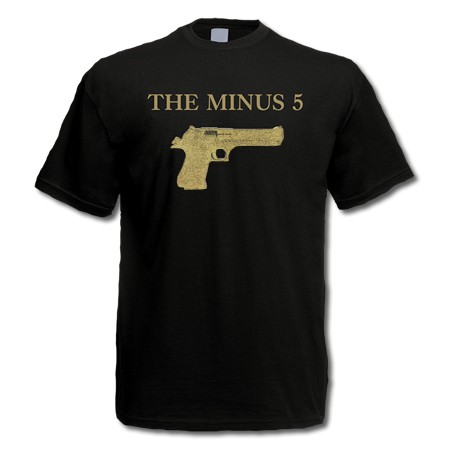 The Minus 5 - Gun Album - T-Shirt