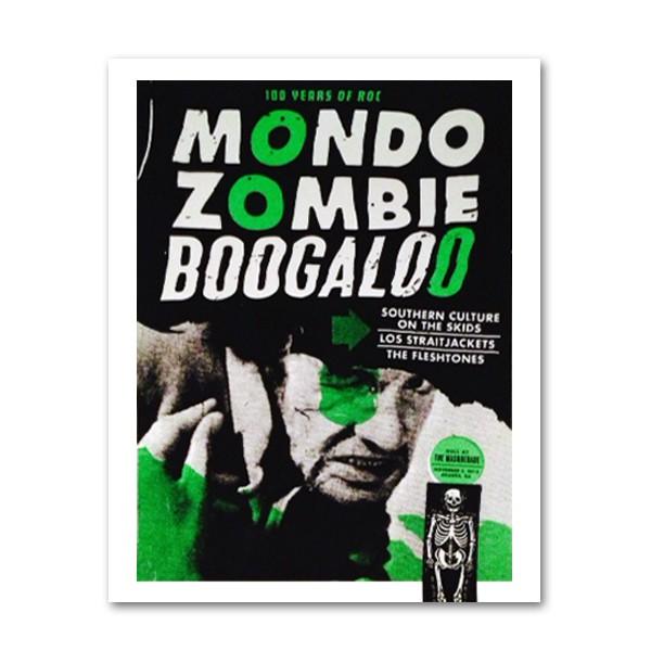 Mondo Zombie Boogaloo Tour Poster - Masquerade Atlanta, GA (LIMITED EDITION)