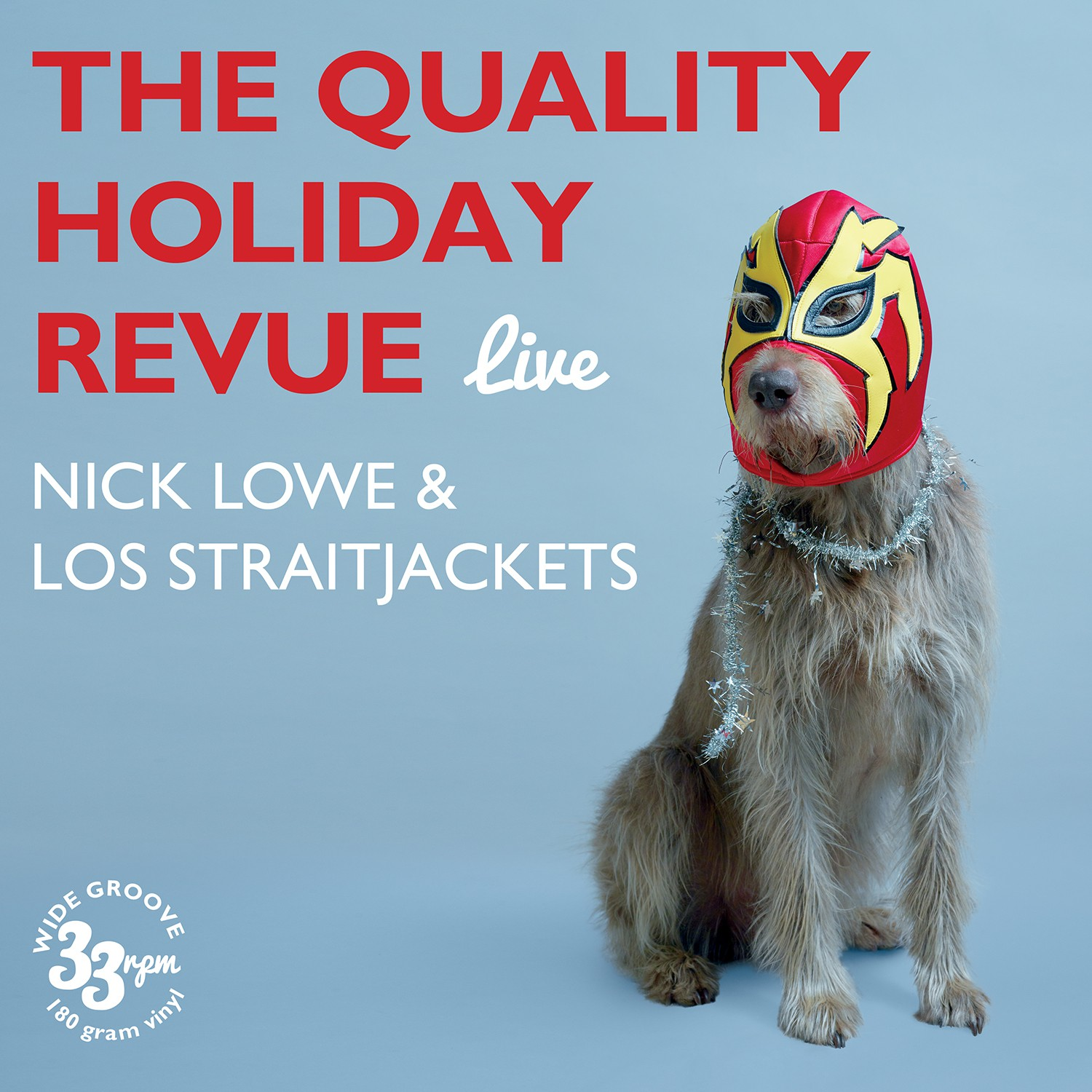 Nick Lowe & Los Straitjackets - Quality Holiday Revue Live - LP