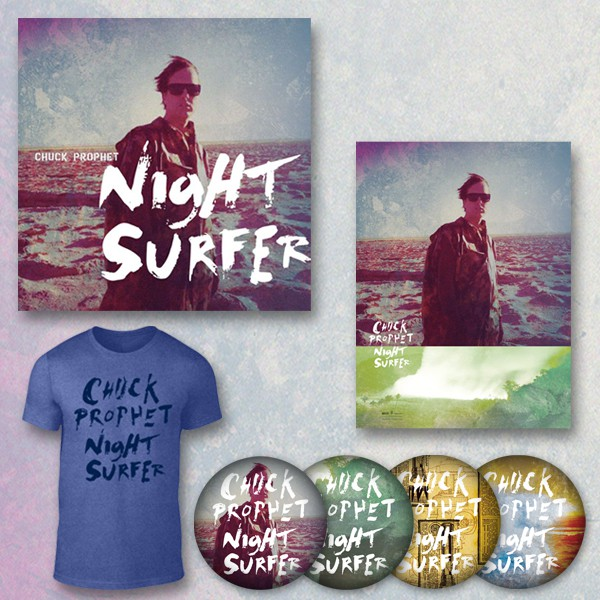Chuck Prophet - Night Surfer - Cataclysmic Collectibles