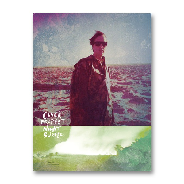 Chuck Prophet - Night Surfer - Signed Poster