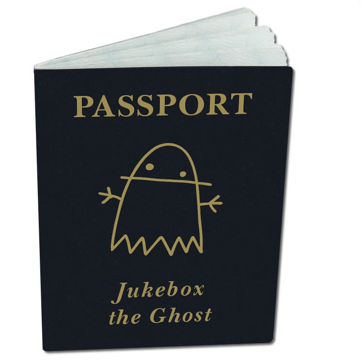 Jukebox the Ghost - Safe Travels Passport