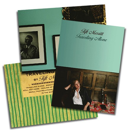 Tift Merritt - Traveling Alone - Postcard Set (of 3)