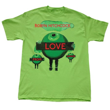 Robyn Hitchcock - Love From London - T-Shirt Medium