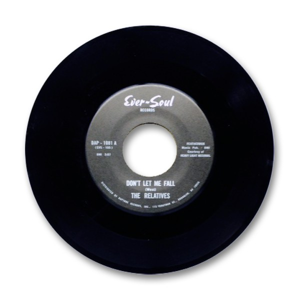 The Relatives - Don't Let Me Fall b/w Leave Something Worthwhile - Vinyl Single