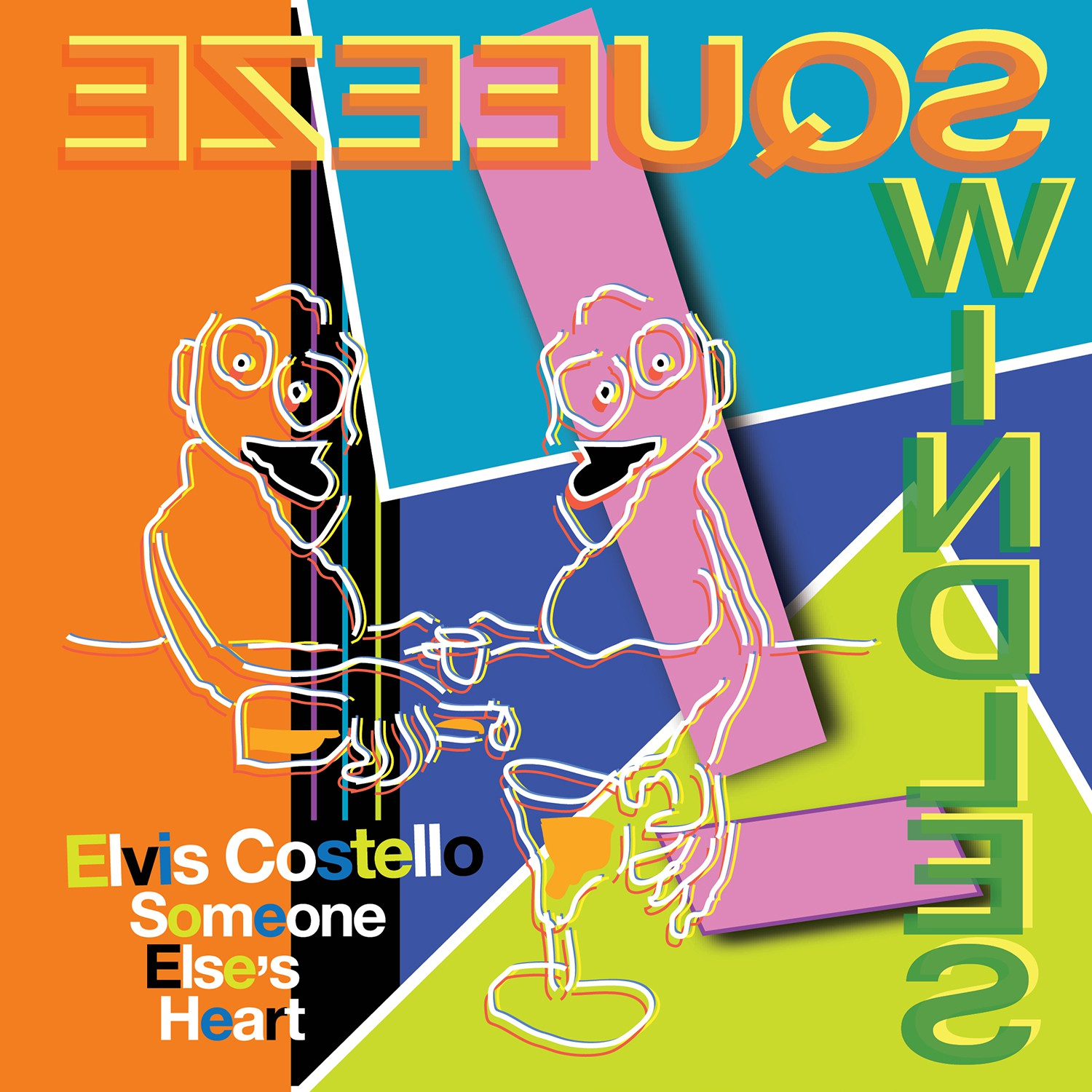 Elvis Costello - Someone Else's Heart - 7""