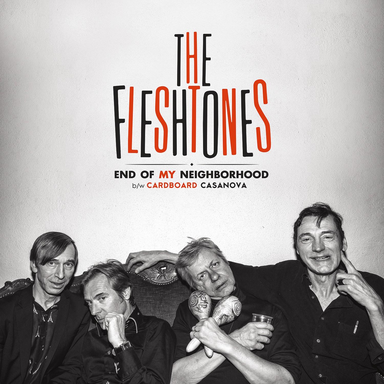 """The Fleshtones - End of My Neighborhood - 7"""""""