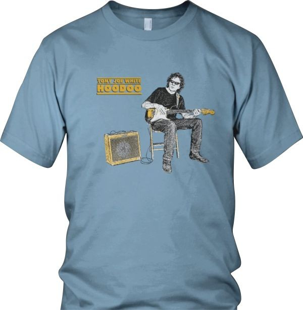 Tony Joe White - Hoodoo T-Shirt (Medium Blue)
