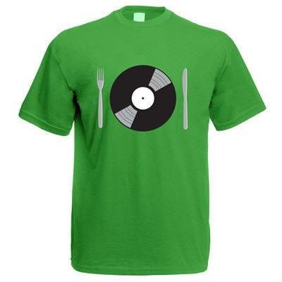 Yep Roc - Feed Your Turntable - T-Shirt