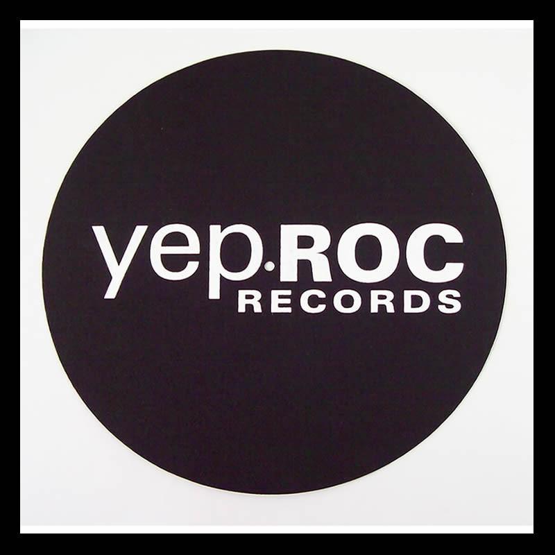 Yep Roc Records - Yep Roc Logo Turntable Mat