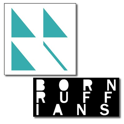Born Ruffians - Birthmarks - 2-Sticker Set
