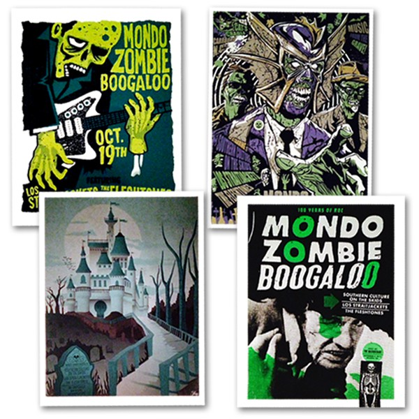 Mondo Zombie Boogaloo Tour Posters (LIMITED EDITION) - Bundle