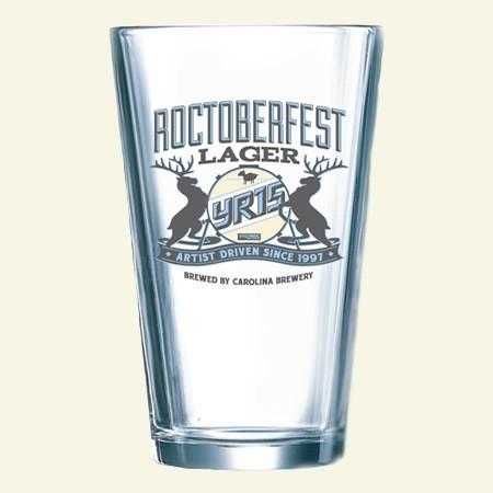 YR15 Rocktober Lager Pint Glass