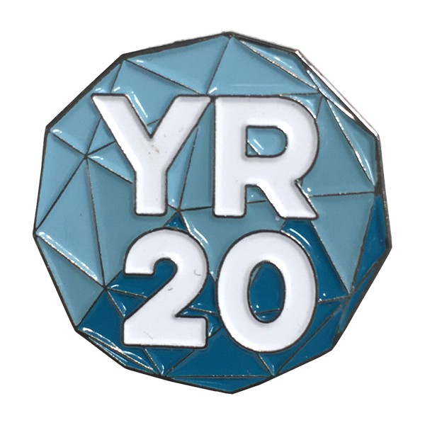 Yep Roc - YR20 Enamel Pin
