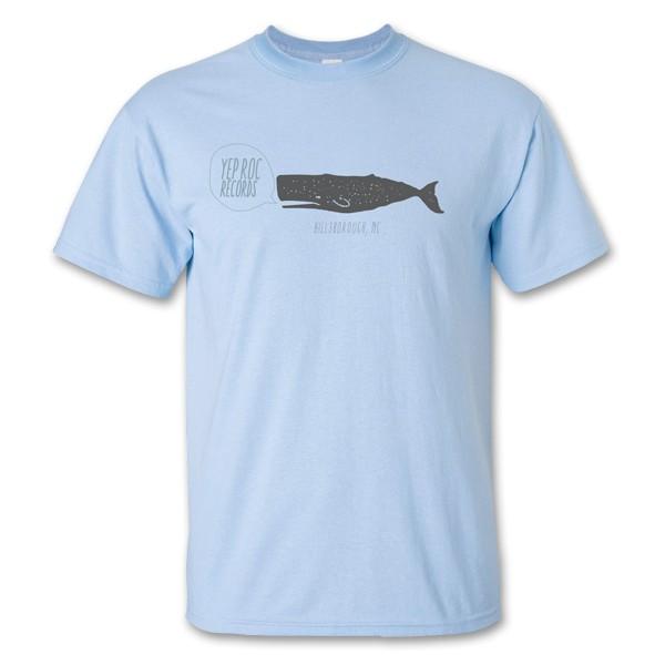 Yep Roc - Whale Logo T-Shirt