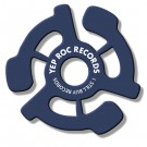 Yep Roc Records - 45 RPM Adapter (Blue)