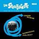 "Los Straitjackets - ""Crime Scene"" b/w ""Sardinian Holiday"